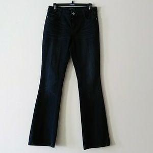 White House Black market blanc Sz 4R Jeans